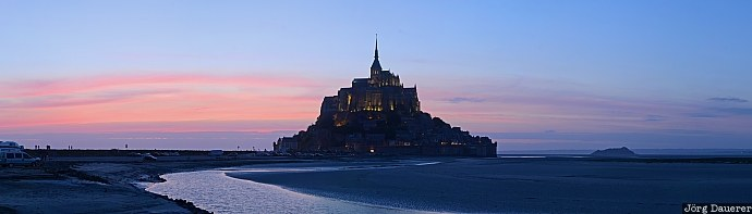 Mont-Saint-Michel, Basse-Normandie, France