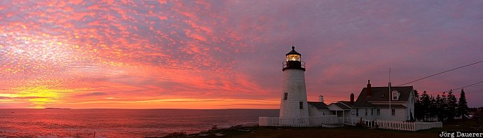 Pemaquid Point Lighthouse, Maine, United States